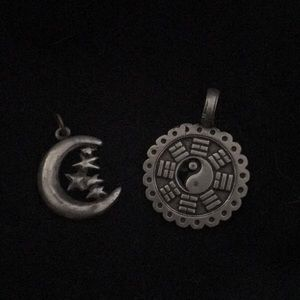 Jewelry - Two necklace charms ! 🌙✨